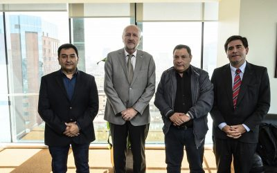 Líderes de FTC sostiene encuentro con ministro Prokurica por Política Nacional Minera