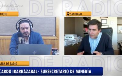 Entrevista a Ricardo Irarrázabal, subsecretario de Minería, sobre la PNM 2050