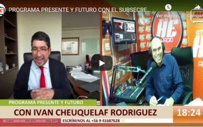 Subsecretario de Minería en programa Presente y Futuro de Radio Heradio