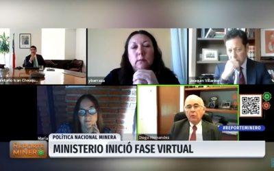 Ministerio de Minería inició PNM 2050 virtual