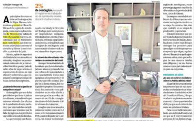 Subsecretario da a conocer en entrevista con El Mercurio de Calama elaboración de la PNM2050