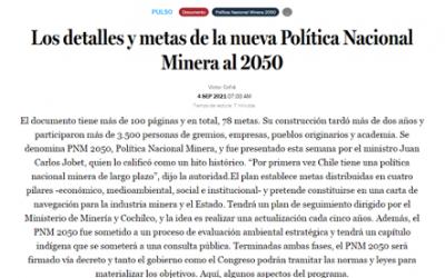 Los detalles y metas de la nueva Política Nacional Minera al 2050